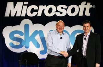 Microsoft buys Skype for $8.5 Billion