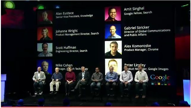 Team Google Inc, Amit Singhal, Google InsideSearch